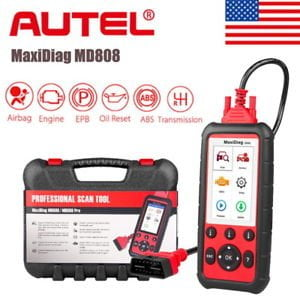 Autel MaxiDiag MD808 is one of the best diagnostic scanner that offers more advanced features and functions to troubleshoot basic four systems