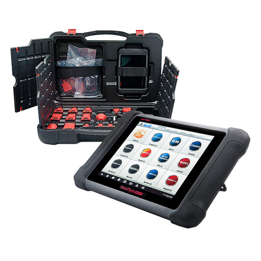Autel Maxisys MS906 is a great OBD1 & 2 scanner that has a perfect size for portability as well as storage