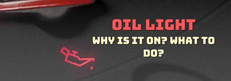 Here's where you can find out what to do when the oil light comes on
