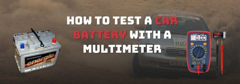 Here's where you can find out how to test a car battery with a multimeter