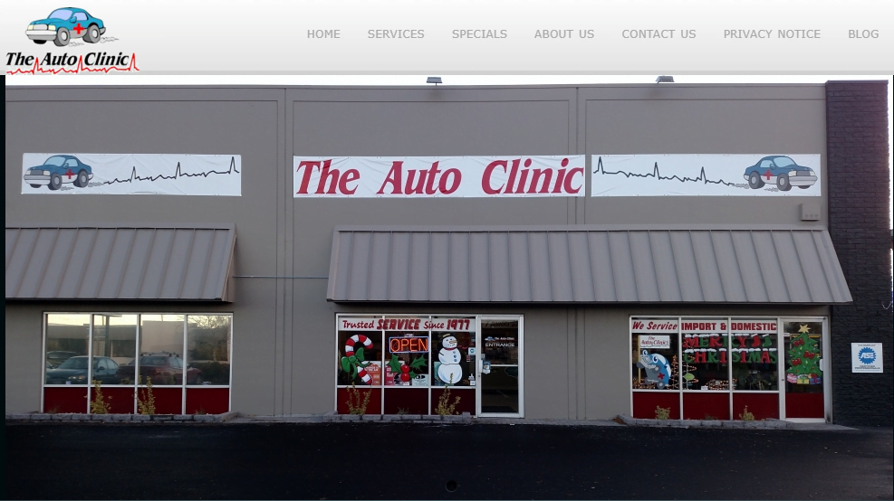 The Auto Clinic & Mill St. Tire shop