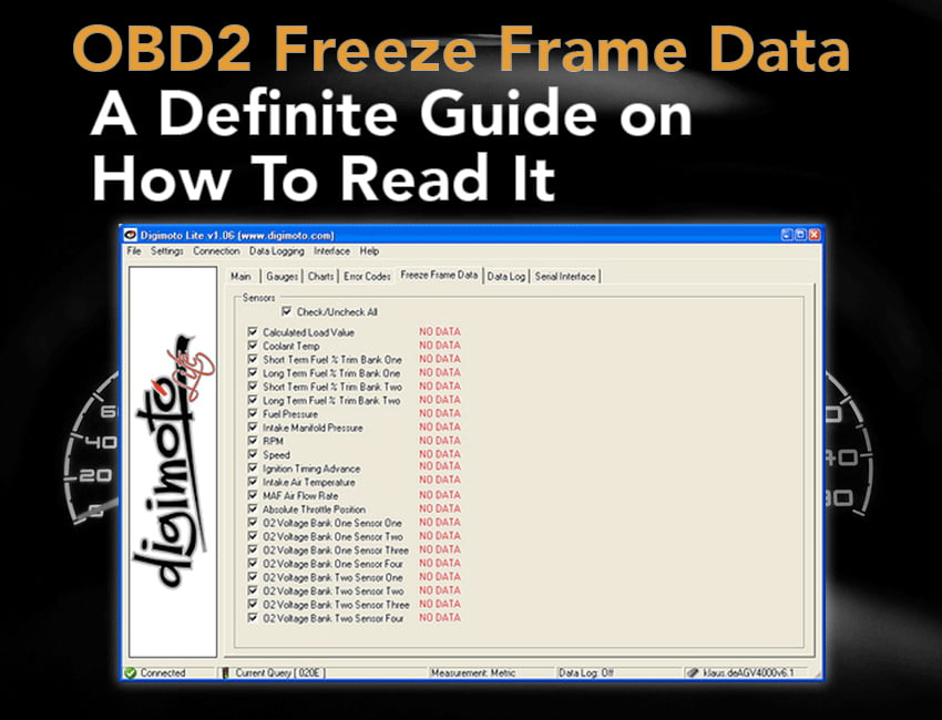 obd2 freeze frame data