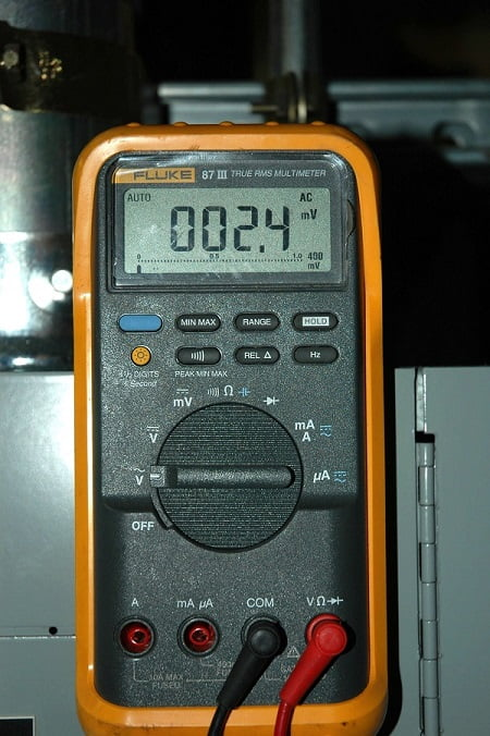 A multimeter can be used to test for parasitic draw