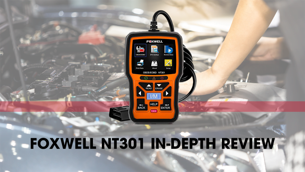 FOXWELL NT301 OBD2 scanner is among the best DIY scanners.