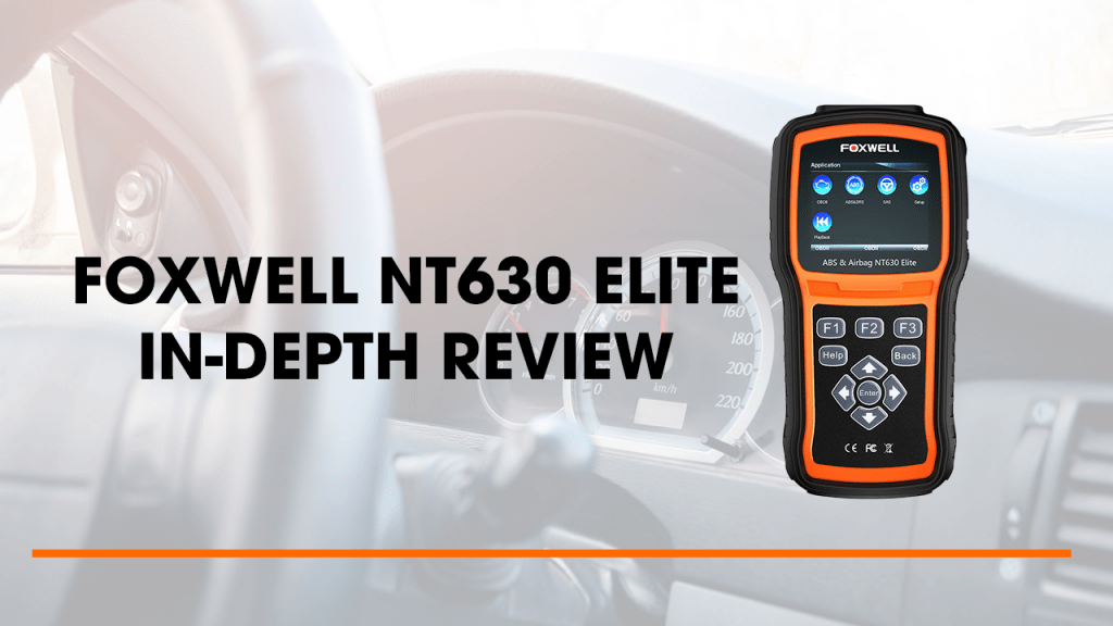 FOXWELL NT630 Elite is affordable and ideal for the car enthusiast, car owners are DIYers.