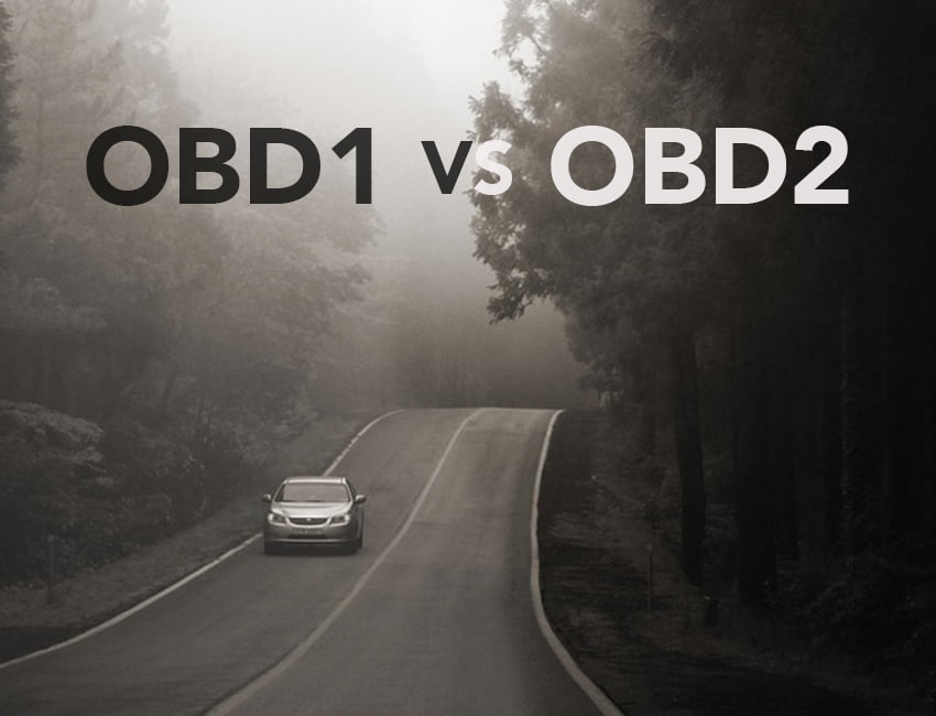 Read on to figure out the differences between OBD1 and OBD2