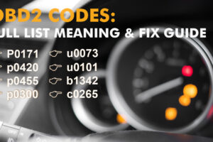 OBD2 Codes: Full List, Meaning, Fixes, and Free Download