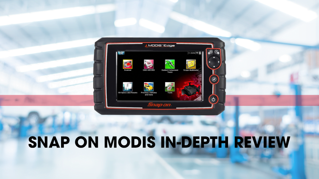 Snap On Modis scan tool has everything you need in an OBD scanner