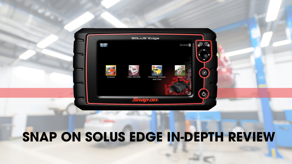 Snap On Solus Edge is fast, efficient, handy, and easy to use.