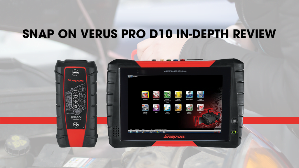 Snap-On VERUS PRO D10 is designed for professionals.