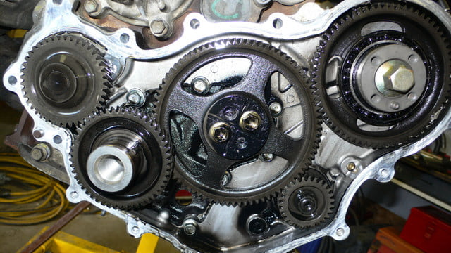 When the camshaft timing for bank 2 is over-retarded, the P0022 trouble code is activated