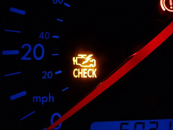 Check engine light turns on when you have a P0031 code