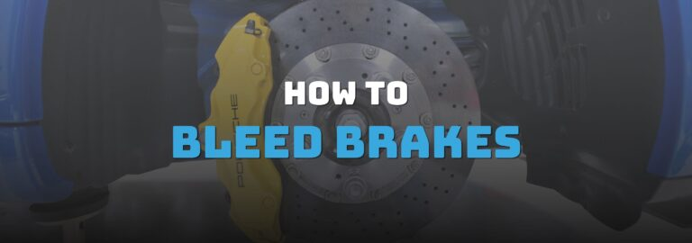 Here's where you can find out how to bleed brakes