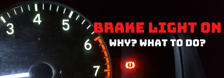 Here's where you can find out what to do when the brake light comes on