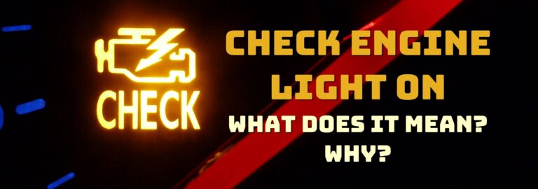 Here's where you can find out what to do when the check engine light comes on
