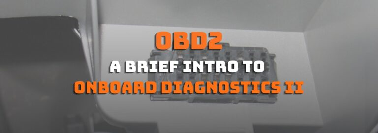Here's where you can get a brief intro to onboard diagnostic II (OBD2)