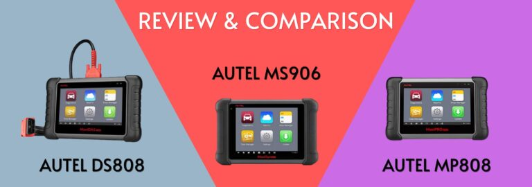Here's where you can get the complete comparison between the Autel DS808, the MS906 and the MP808