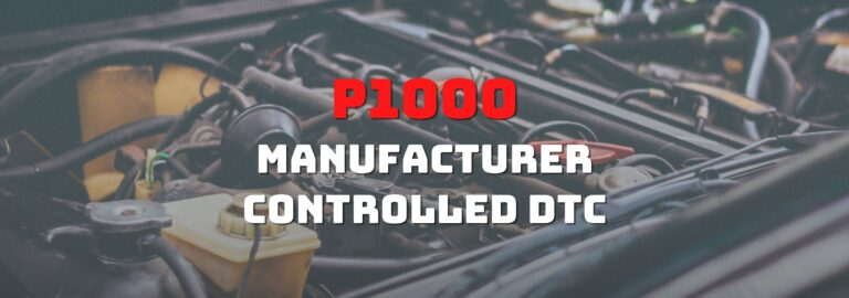 Here's where you can get a thorough understanding of the P1000 OBD2 code