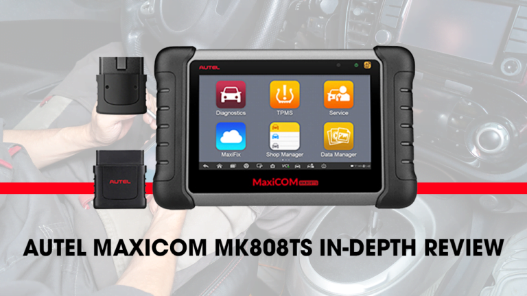 Here's where you can get an in-depth review of the Autel Maxicom MK808TS