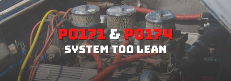 Here's where you can get a thorough understanding of the P0171 and the P0174 OBD2 code