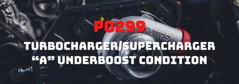 If you want to learn about the P0299 OBD2 code, this is the right place