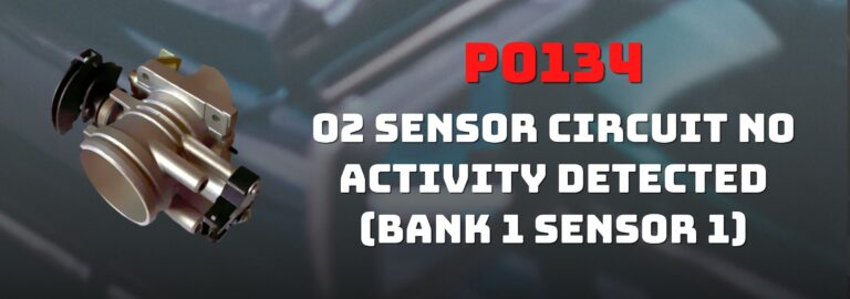 Here's where you can get a thorough understanding of the P0134 OBD2 code