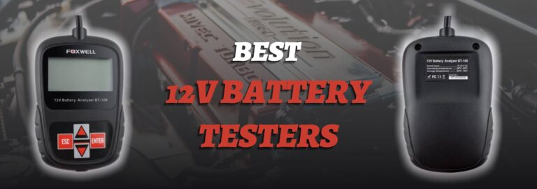 Here's where you can find the best 12V battery testers