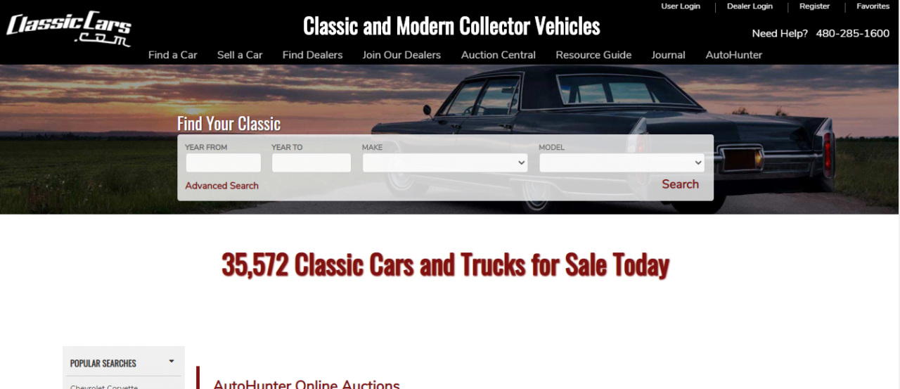 ClassicCars is one of the best auto blogs