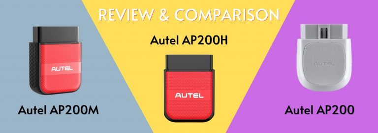 Looking for the complete comparison between the Autel AP200M, the AP200H, and the AP200? This is the right place