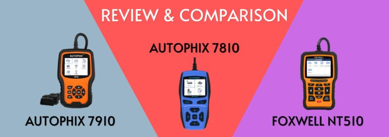 Here's where you can get the complete comparison between the Autophix 7910, 7810 and the Foxwell NT510