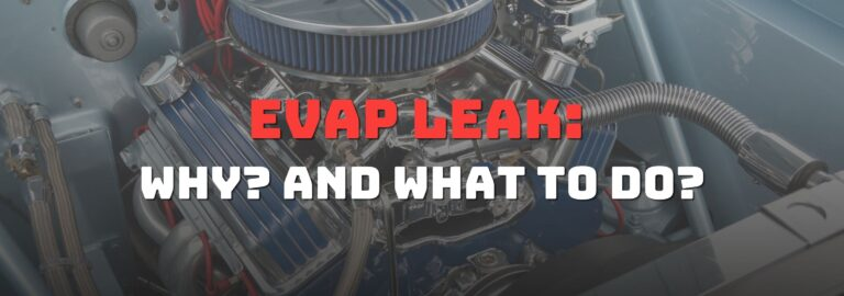 Here's where you can get a thorough understanding of the EVAP leak