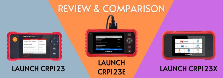 Here's where you can get the complete comparison between the Launch CRP123, CRP123E and CRP123X
