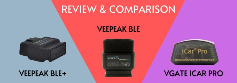 Here's where you can get the complete comparison between the Veepeak OBDCheck BLE+, BLE and the Vgate iCar Pro
