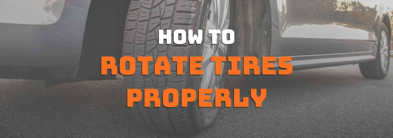 If you don't know how to rotate tires properly, then this is the right place for you