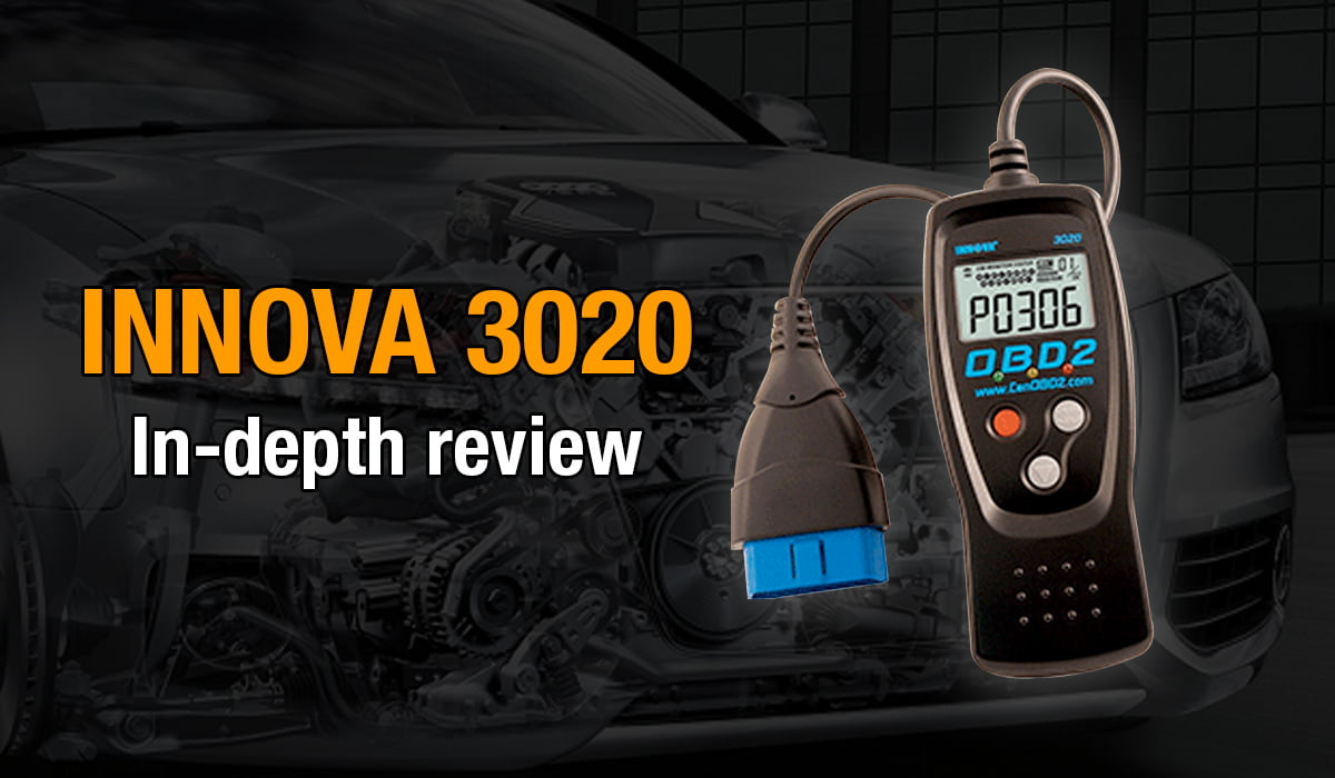 Here's where you can get an in-depth review of the Innova 3020