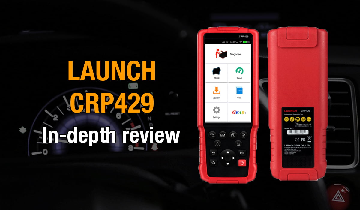 Here's where you can get an in-depth review of the Launch CRP429