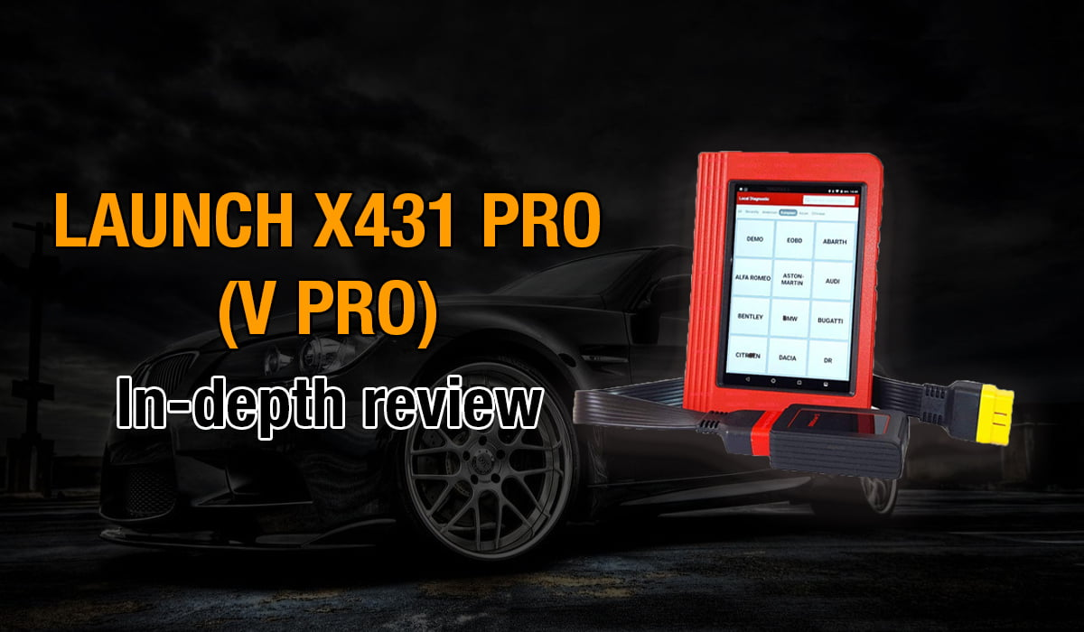 Here's where you can get an in-depth review of the Launch X431 PRO (V PRO)