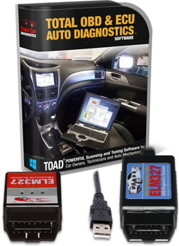 toad pro obd2 programming software