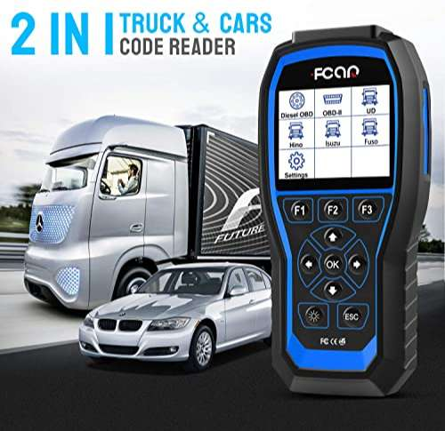 FCAR F506 is the best heavy truck scan tool for professionals