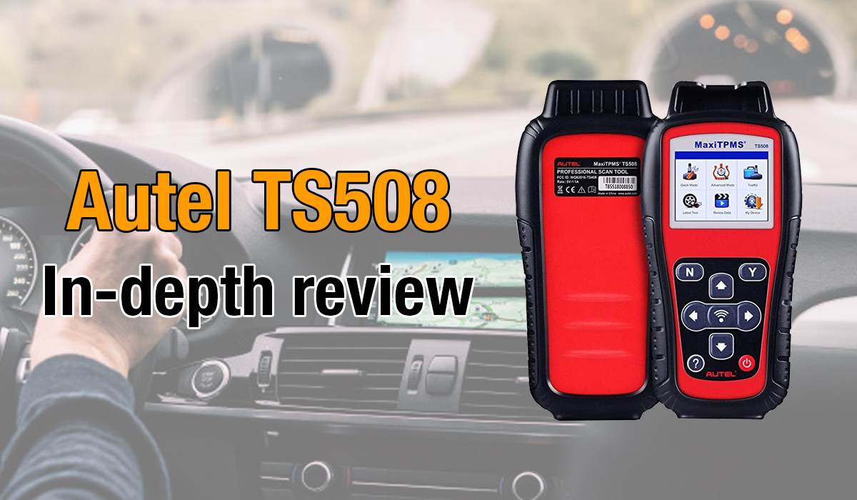 Here's where you can get an in-depth review of the Autel TS508